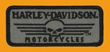HARLEY DAVIDSON LINEAR WILLIE G SKULL SMALL HARLEY PATCH