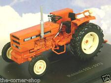 SUPERB U/H HACHETTE DIECAST 1/43 1973 RENAULT 551 TRACTOR IN ORANGE-RED TR42