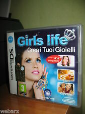 GIRL'S LIFE CREA I TUOI GIOIELLI NINTENDO DS NUOVO SIGILLATO