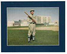 """1993 Conlon 8""""x 10"""" COLOR Masters: #2 NAP LAJOIE, 1909 Indians/Naps (Megacards)"""