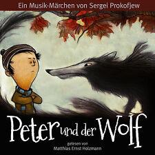 Hörbuch CD Peter und der Wolf  Deutsch und Englisch mit Leonard Bernstein