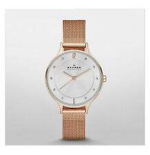 Skagen SKW2151 Rose Gold Mesh Ladies Watches, 30mm Case, 3 ATM RRP $245