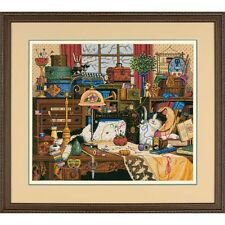 Dimensions D03884 | Maggie The Messmaker Counted Cross Stitch Kit | 36 x 30cm