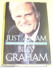 Just As I Am 1997 Billy Graham Biography First Edition Nice SEE!