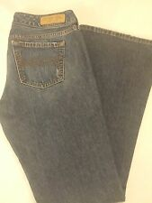 Women's Abercrombie & Fitch Medium Wash Flare Jeans Size 4S 29x29