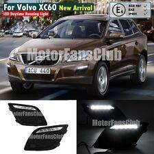 New LED Daytime Running Light DRL Kit For Volvo XC60 Fog Lamp 2010 2011 2012 13