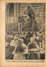 Lourdes Mgr Tissier Rosaire Cardinal Luçon & Bourne & Andrieu 1919 ILLUSTRATION