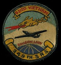 USAF OL-20 U-2 Dragon Lady Vietnam 349th SRS Patch S-21