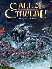 KEEPER'S SCREEN & ADVENTURE VF! CALL OF CTHULHU Chaosium H.P. Lovecraft RPG