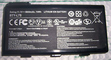 Batterie D'ORIGINE MSI A5000 A6000 CR600 CR610 BTY-L74 GENUINE ORIGINAL