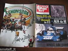 AUTOSPRINT 1976/31=GP F2 RENE' ARNOUX RENAULT=