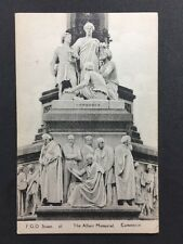 Vintage Postcard - London #A6 - RP Albert Memorial - FGO Stuart