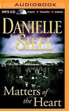 Matters of the Heart by Danielle Steel (2014, MP3 CD, Unabridged)