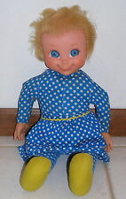 Vintage Mrs Beasley Doll Non-Talker with Apron, no Collar or Glasses