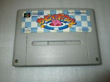 KIRBY BOWL / super famicom / nintendo / snes