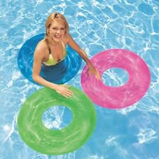 """Intex Wet Set 30"""" Transparent Tire Tube,Pool/Beach Toy Toob,Assorted Color,New"""