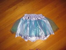Girls Disney Parks The Little Mermaid Ariel Tulle Satin Skirt Costume Size 10-12