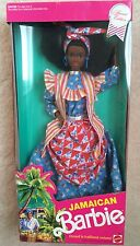 Mattel 1992 JAMAICIAN BARBIE, Dolls of the World Collection