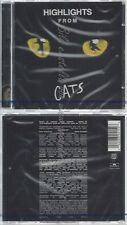 CD-NM-SEALED-ANDREW LLOYD WEBBER UND VARIOUS -1993- - SOUNDTRACK -- CATS -HIGHLI