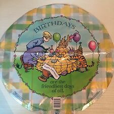 "18""Classic WinnieThe Pooh Bear Happy Birthday Foil Balloon Tigger Piglet vintage"