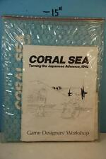 Coral Sea Turning the Japanese Advance 1942 - GDW 1974 Punched