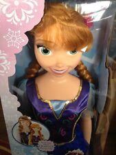 "ANNA MY SIZE DOLL. 38"" With Light Up Flower Clip NEW BOXED"