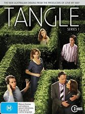 Tangle : Series 1 (DVD, 2010, 3-Disc Set) Foxtel R4 Australian TV Series 5*
