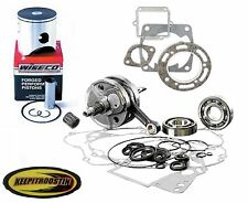 Engine Motor Kit Piston Crank Shaft Gaskit Bearing Fits Honda Cr250 1997-2001 Cr