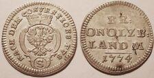Allemagne, Brandenburg-Ansbach, 2 1/2 Kreuzer 1774 !!