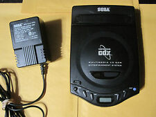 Sega CDX System CD X Console w/ Original Official MK-4122 Power Adapter Bundle