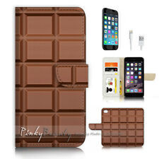 iPhone 7 (4.7') Flip Wallet Case Cover P3464 Chocolate