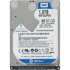 "Western Digital Blue 1tb SATA 2.5"" Hard Drive Laptop HDD 5400 RPM WD 10 JPVX"