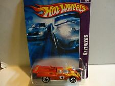 2007 Hot Wheels #57 Orange Ferrari 512M w/5 Spoke Wheels
