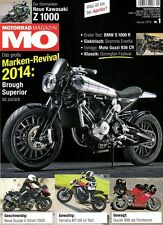MO1401 + Test BMW S 1000 R + YAMAHA MT-09 + BROUGH Superior SS 100 + MO 1/2014