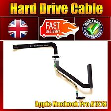 """NEW MACBOOK PRO 13"""" A1278 HD HARD DRIVE CABLE 821-0814-A 922-9062 2009-2010"""