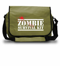 Zombie Survival Kit Bag - Laptop College School - Christmas Gift