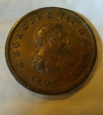 Great Britain 1807 1/2 Penny Coin