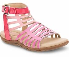 Stride Rite PS Katerina Toddler/Little Kid Pink Leather Sandals sz 12.5 M  E31