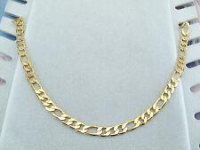Collana Uomo Maglia Figaro Oro Giallo Elegante 60 cm x 0,71 cm Catena