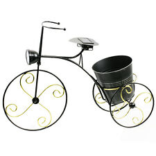 Outdoor Solar Tricycle LED Landscape Path Lawn Light Flower Pot Bicycle Lamp