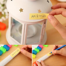 1Pc Utility 2in1 Highlighter Colorized Pen Sticky Note Post-it Office Stationery