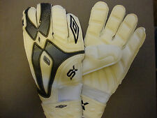 Umbro SX Flare Storm Goalkeeper Gloves (White) - BNIB - Size 11