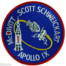 Apollo 9 Mission Embroidered Patch (Official Patch) 10cm Dia approx