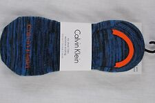 MENS CALVIN KLEIN SET OF 3 PAIR OF ASSORTED NO SHOW LINER SOCKS NEW W TAGS