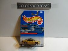 Hot Wheels International Card Gold BMW 850i w/Lace Wheels