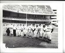 Vintage New York Yankee Photo Old Timers Day-DiMaggio Berra Rizzutto +++++++
