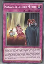 YU-GI-OH Absage in Letzter Minute Common SECE-DE069