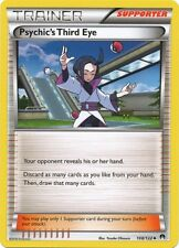 4 x Psychic's Third Eye (Trainer) (BREAKpoint 108/122) - Uncommon - Near Mint