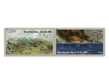 USPS New Civil War: 1861 Forever Self-Adhesive Stamp Souvenir Sheet