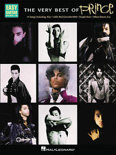 The Very Best Of Prince Easy Guitar Tab Book NEW!
